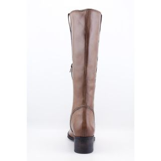 Biviel BV2883 Womens Size 9 Brown Oak Leather Fashion Knee High Boots
