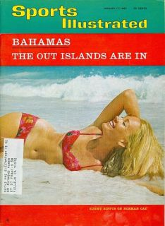 Jan 17 1966 Sports Illustrated Swimsuit Sunny Bippus