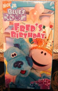 Blues Room Freds Birthday Clues $2 75 Ships Video VHS 097368809734
