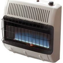 Mr Heater Vent Free 30K BTU Blue Flame Natural Gas W Tstat & Blower