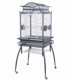 HQ Cages VA2422 Parrot Bird Cage 24x22 Veranda Toy Toys Cocktiels