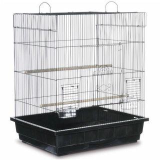 New Black Base Birdie Cage Parakeet Bird Home Family Pet Supplies