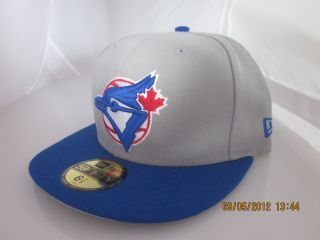 New Era Toronto Blue Jays Fitted Hat Cap 59Fifty MLB Brand New N