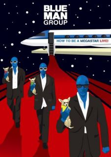 Blue Man Group How to Be A Megastar Tour 2 1 DVD CD