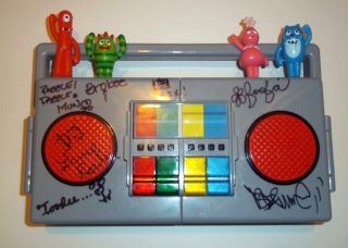 Cast Hand Signed Toy Radio DJ Lance Biz Markie All 5 Characters