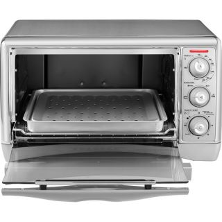 Countertop Convection Oven Broiler 6 Slice Toaster Capacity Bake Broil