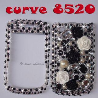 Bling Diamond Phone Cover Case Skin F Blackberry curve 8520 9300 9330