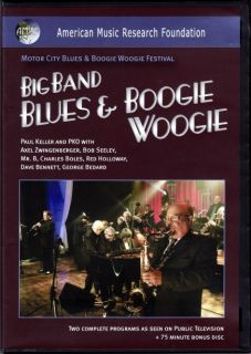 Big Band Blues Boogie Woogie Mr B Dave Bennett DVD