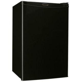 Danby 2 5 CU ft Energy Star Compact Refrigerator Black