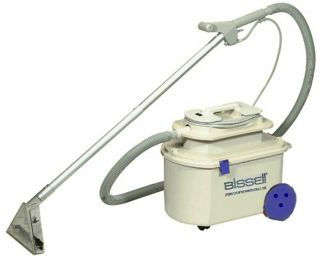 BISSELL 1631 Power Steamer Carpet Floor Upholstery Steam Cleaner