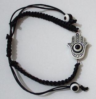 Hand Black String Kabbalah Bracelet Lucky Charm Jewelry Bracelet