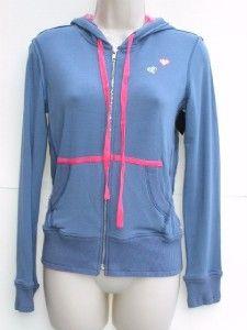 bloomies retro regression hoodie jacket sweatshirt l nwt