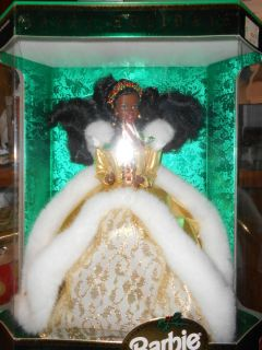 1994 Happy Holidays Black Barbie Doll Special Edition