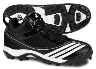 Adidas Scorch Blast Mid J Black Youth Football Cleats