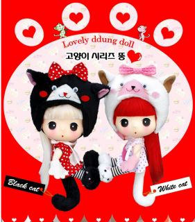 Holiday Amazing Pretty Cute Doll Figure DDUNG 18cm *Black cat ddung