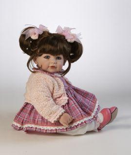 PRINCESS Adora Vinyl Baby Girl Toddler Doll Brunette Blue Eyes NEW 20