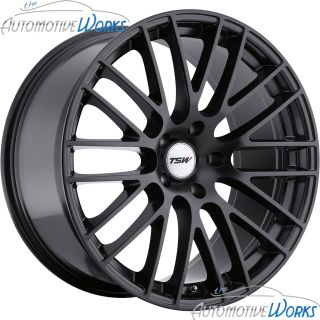 19x8 5 TSW Max 5x114 3 5x4 5 40mm Matte Black Rims Wheels inch 19