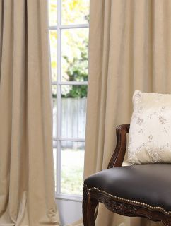 wheat pole pocket velvet blackout curtains drapes luxurious affordable