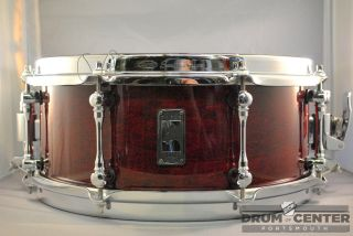 Mapex Black Panther Cherry Bomb 5.5x13 Snare Drum   Video Demo