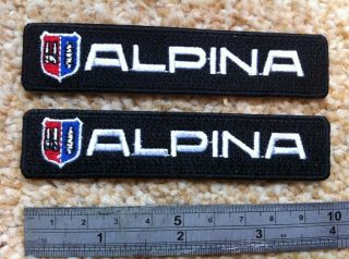 BMW Alpina Car Floor Mats Seat Cover Cloth Badge Patch