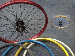 Diamondback Rear 9T Driver BMX Bike Wheel 5 Colours