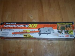 Decker Hedge Hog XB 10 Detail Blade Attachment Hedge Trimmer NIB LQQK
