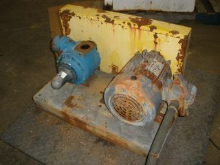 BLACKMER LGLD2E ROTARY VANE PROCESS PUMP USED