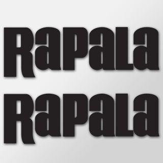 Rapala Fishing Boat Decals Vinyl Stickers Set of 2 New