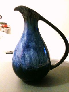 Blue Mountain Pottery Cobalt Blue Vase Canada