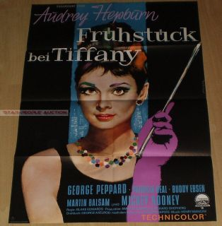 Blake Edwards Audrey Hepburn Breakfast at Tiffanys RARE German Orig