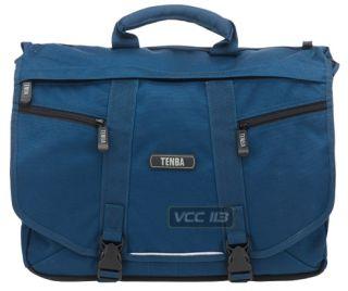 Tenba Messenger Bag SLR Camera Laptop Case Large Blue