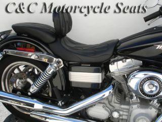 Dyna, Super Glide, FXD, Street Bob, Fat Bob, C&C, Harley Seats, Custom