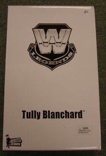 Mattel WWE Legends Tully Blanchard Action Figure w White Mailer Box
