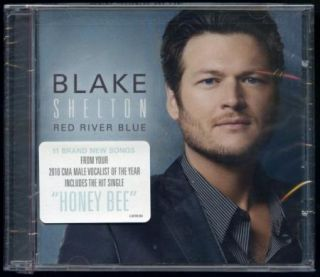Blake Shelton Red River Blue CD New SEALED