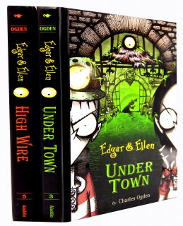 Charles Ogden Edgar Ellen Collection 2 Books Set Pack