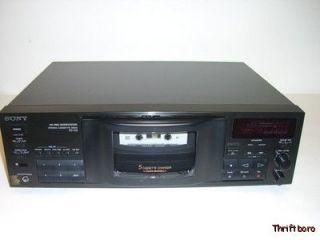 Sony HX Pro Stereo 5 Cassette Deck Changer TC C5   Quick Auto Reverse