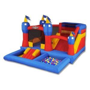 Blast Zone Misty Kingdom Amusement Park Inflatable Bounce House New