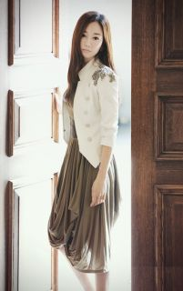 New Fashion Korean Women White Slim Epaulet Suit Jacket Blazer