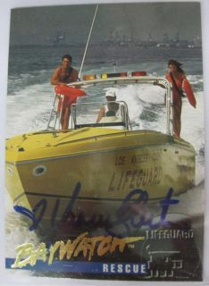 1995 Sports Time Baywatch Yasmine Bleeth Auto Autograph SP RARE Bay