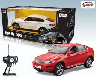 Rastar RC Car 114 BMW X6 Car Model with Remote Control Toys