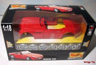 BMW Z8 Roadster 1 18 Assembly Line 2001 Body Shop Diecast Model Kit