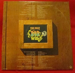 The Best of Bob Wills Vol 2 LP Vinyl Double LP Record Western Swing