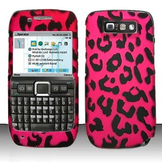 Pink Leopard Hard Case Cover for Straight Talk Nokia E71