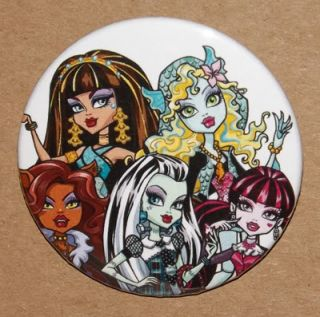 Monster High 2.25 Inch Pin Button Pinback (Cartoon Pin) PIN #7