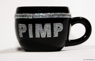 Silver King Pimp Bling Mug Funny Coffee Tea Kitchen Office