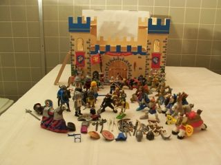 Castle/Knights/Accessories Lot Imaginarium,Playmobil,Fisher Price and