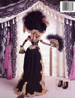 1889 Gold Rush Lady Paradise Vol 24 Barbie Doll Crochet Pattern