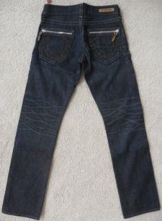 NWT True religion mens Bobby indigo zipper jeans in overland