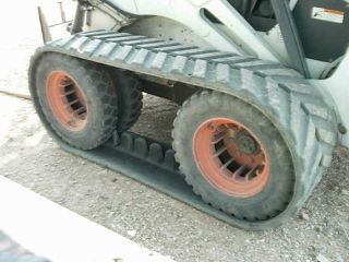 Goodyear Trackman Ott Rubber Bobcat Tracks Dual Wheel