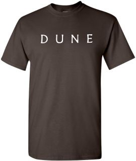 Dune T Shirt Cool Sci Fi Book Shirt 80s Movie Geek Tee